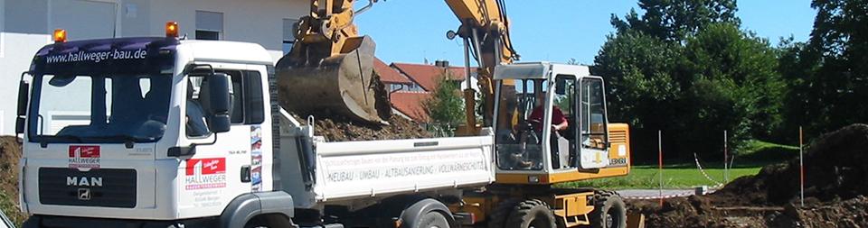 Ihr Baunternehmen für Schlüsselfertige Bauten und Sanierung